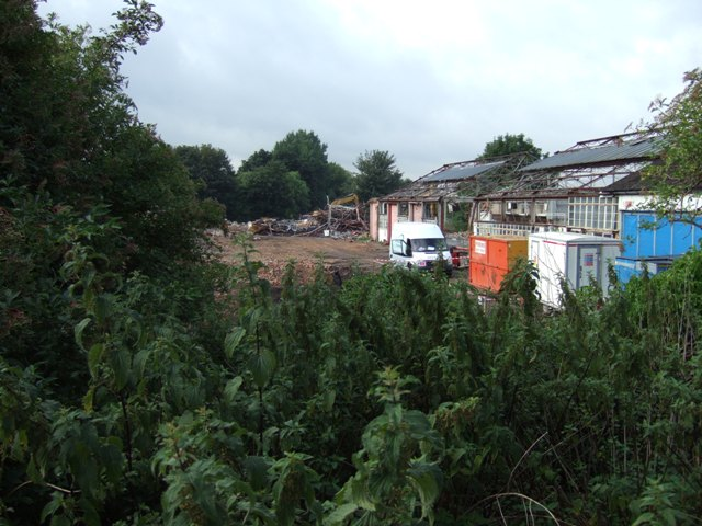 9th August 2013 - still some of the old buildings remain