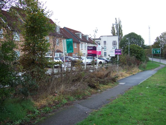 2018 - Does the developer ever intend to landscape the site? Unforgivable mess at the front